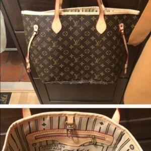 ¥√ Louis Vuitton  Neverfull MM Shoulder Bag Monogr